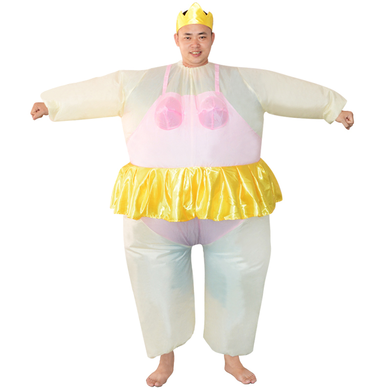 Unique Dress Up Ballet Hilarious Inflatable Costume