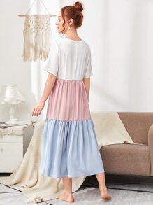 Cut And Sew Smock Dress