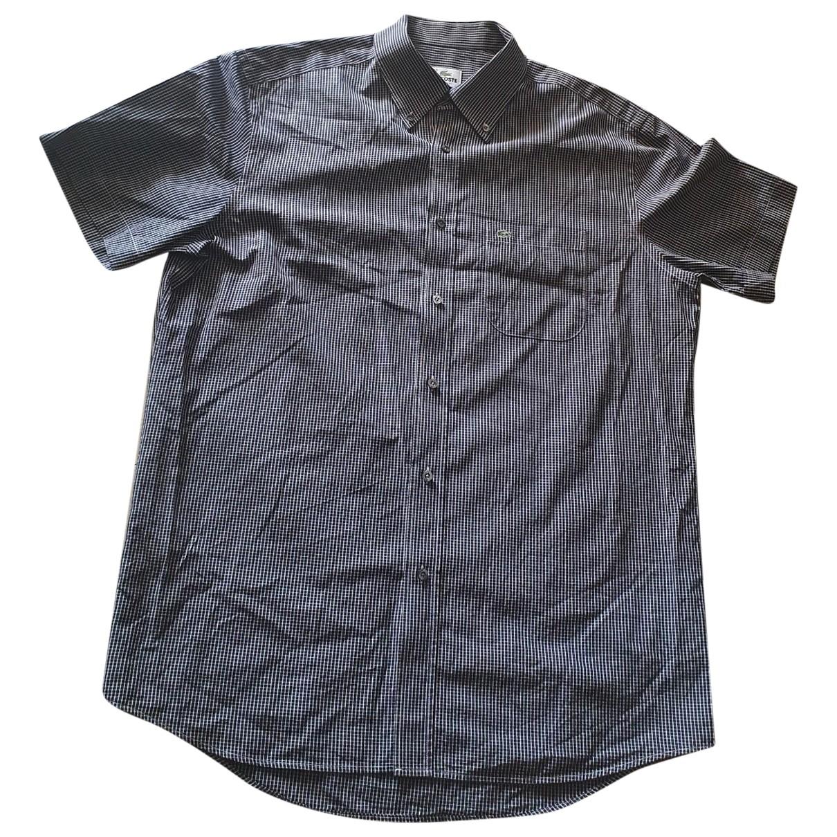 Lacoste \N Blue Cotton Shirts for Men 43 EU (tour de cou / collar)