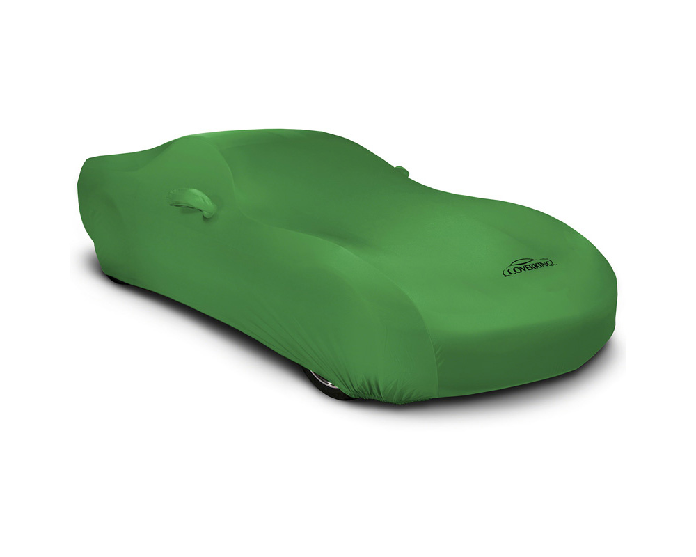 Coverking CVC2SS86FT7037 CVC2SS86 Satin Stretch Synergy Green Custom Car Cover Fiat 124 Spider 17-19