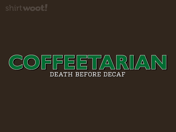 Coffeetarian T Shirt