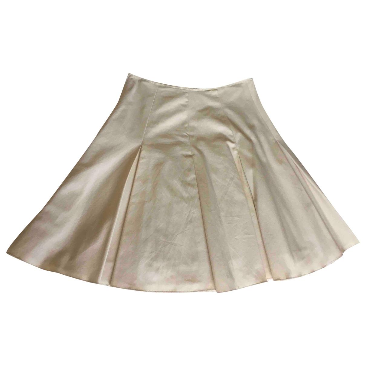Paul Smith \N Beige Cotton skirt for Women 42 IT