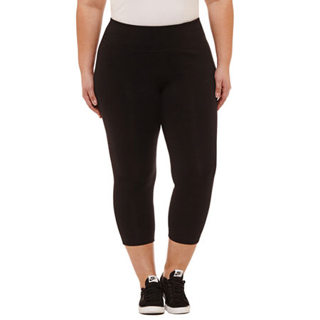 Xersion Essential Studio Capri - Plus, 2x , Black