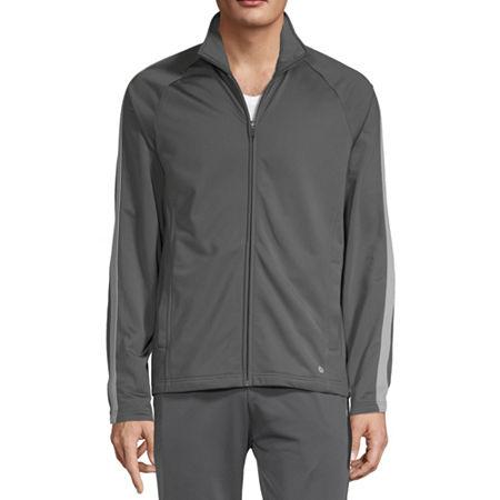 Xersion Lightweight Track Jacket, Small , Gray