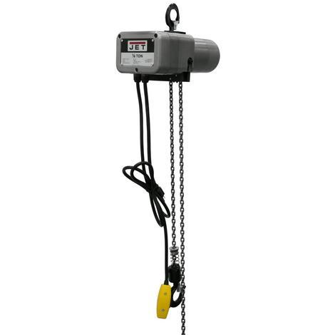 Jet 1/8-Ton Electric Chain Hoist 1-Phase 15' Lift