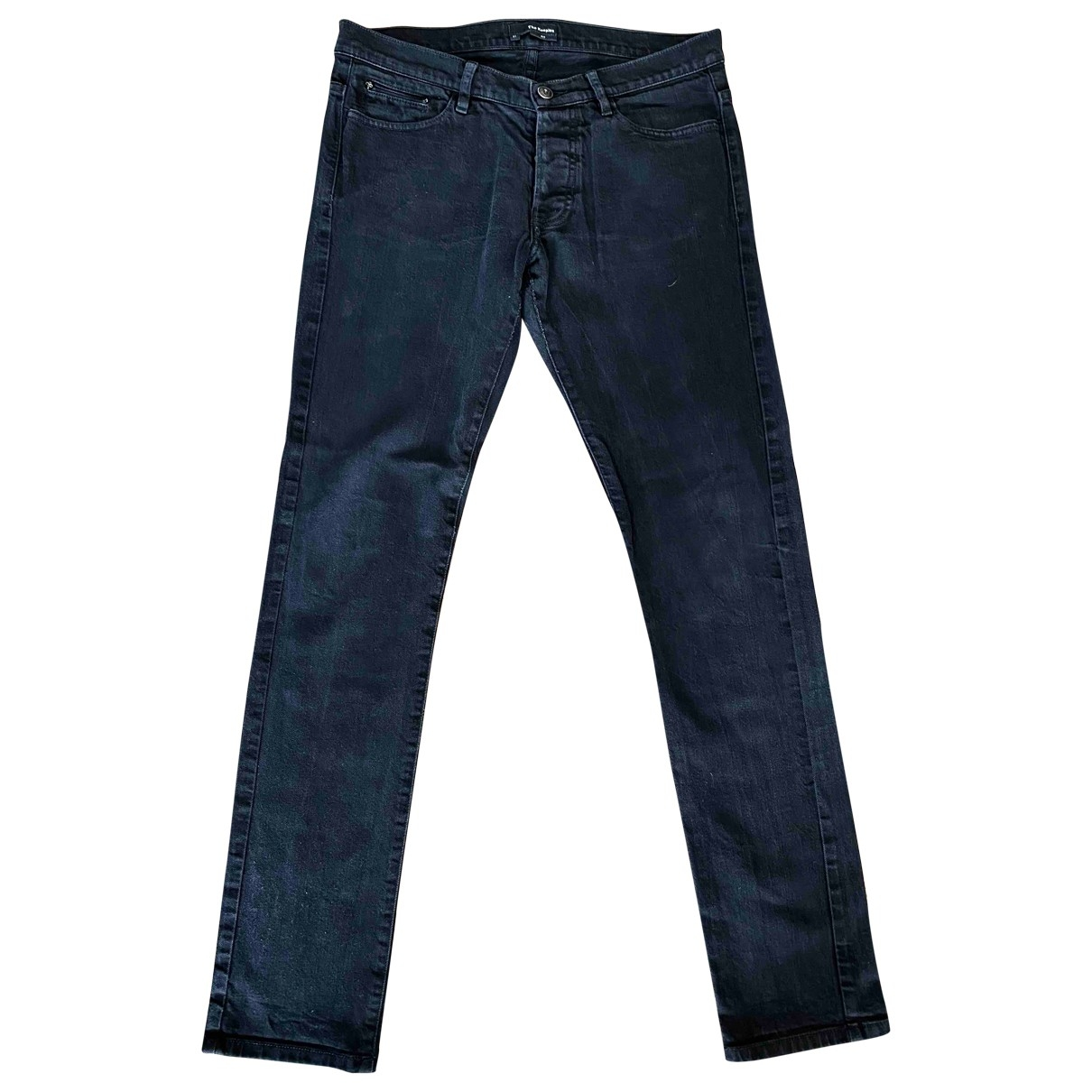The Kooples \N Black Cotton - elasthane Jeans for Men 31 US