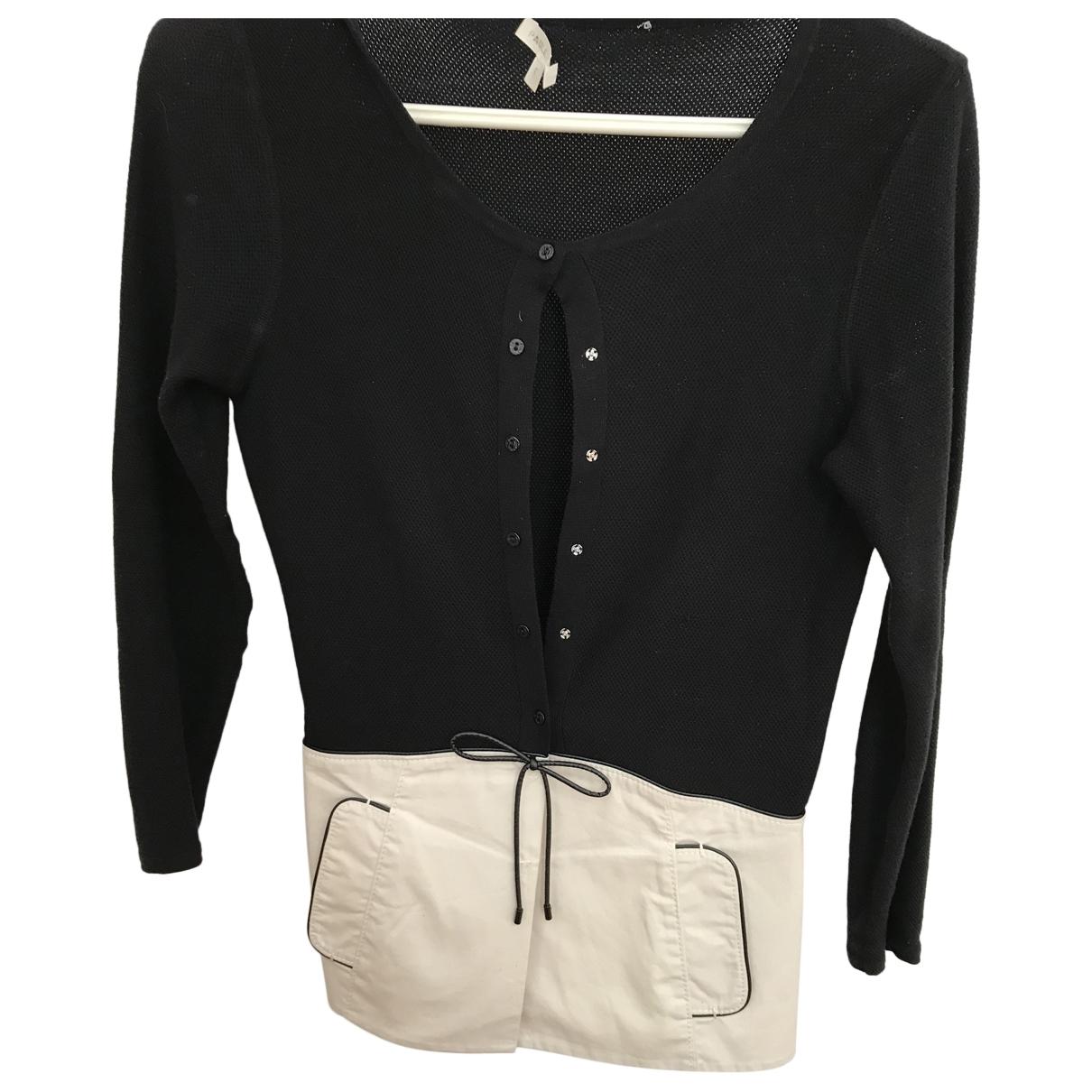 Paule Ka \N Black Cotton Knitwear for Women S International