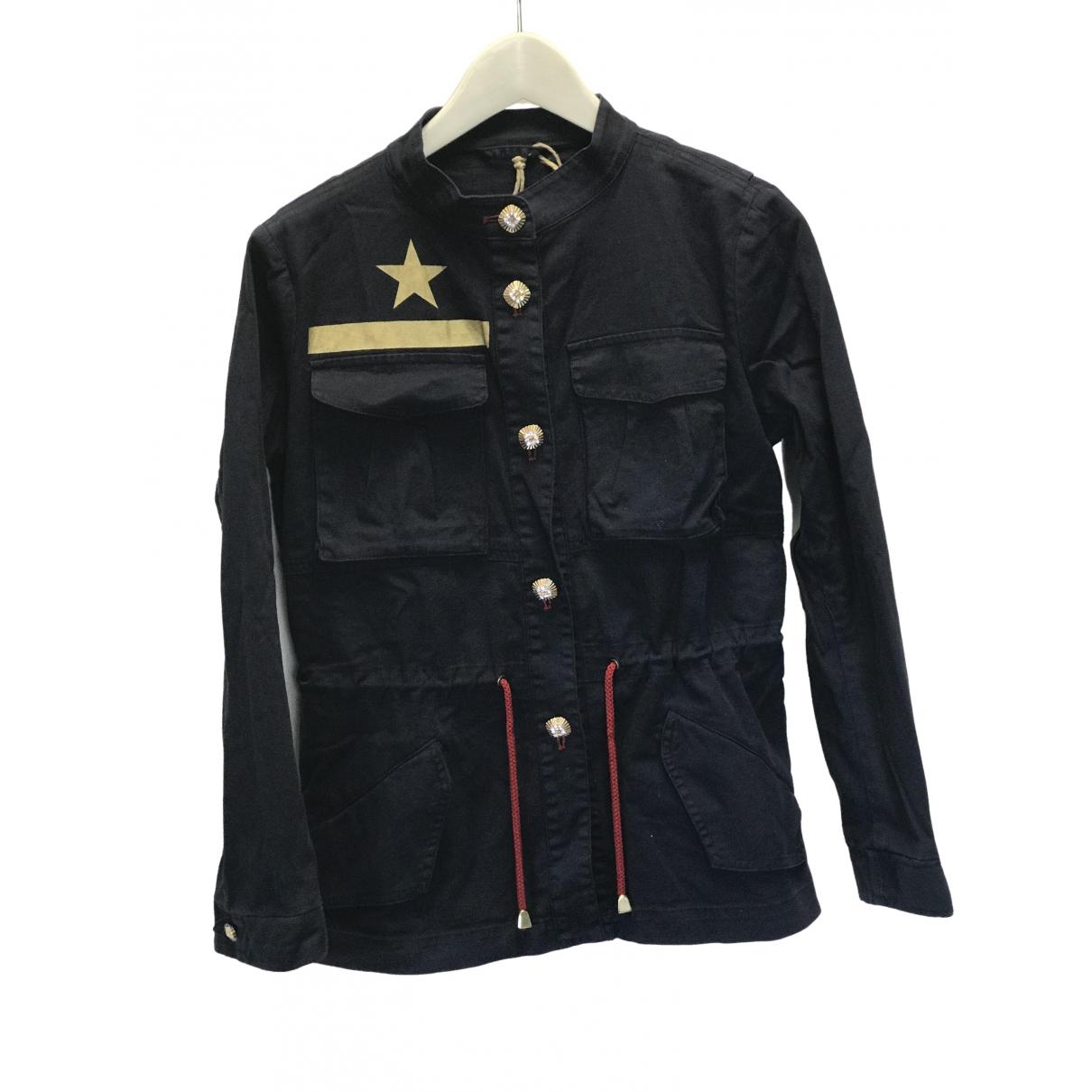 Project Foce Single Season \N Blue Cotton jacket for Women 42 IT