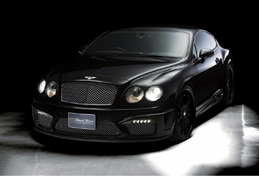 Wald USA BGT.BB.FB.CF.08 Black Bison Edition Front Bumper w/ LED Bentley Continental GT 04-12