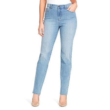 Gloria Vanderbilt Amanda Jeans, 10 , Blue