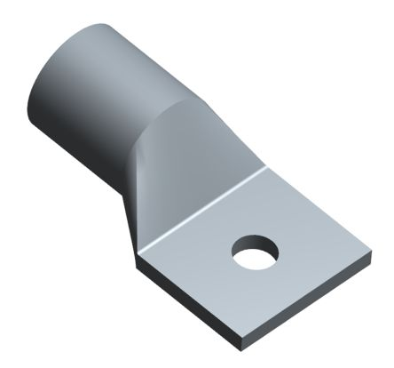 TE Connectivity , AMPOWER Uninsulated Crimp Ring Terminal, 9.53mm Stud Size, 177mm² to 177mm² Wire Size