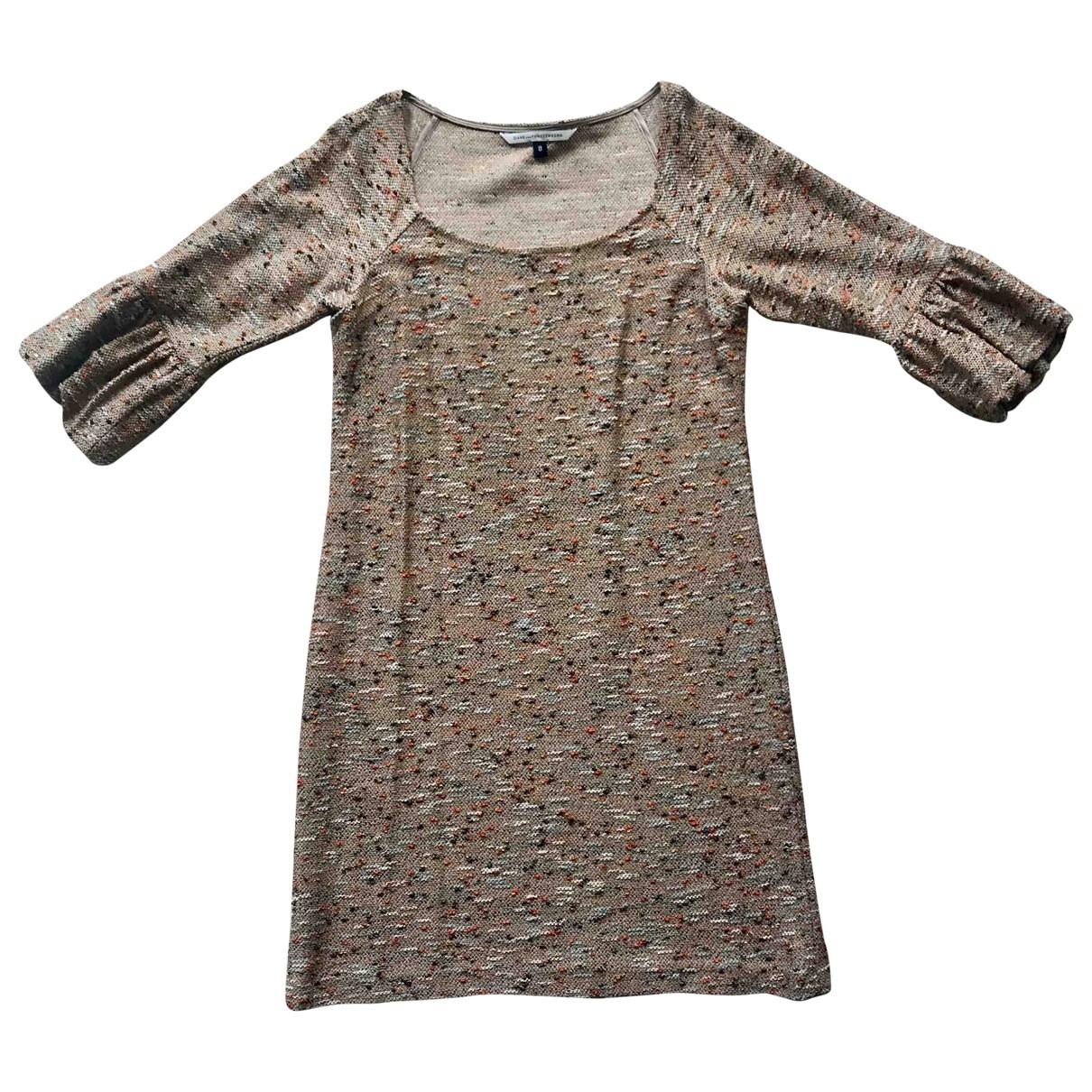 Diane Von Furstenberg \N Cotton dress for Women 8 US