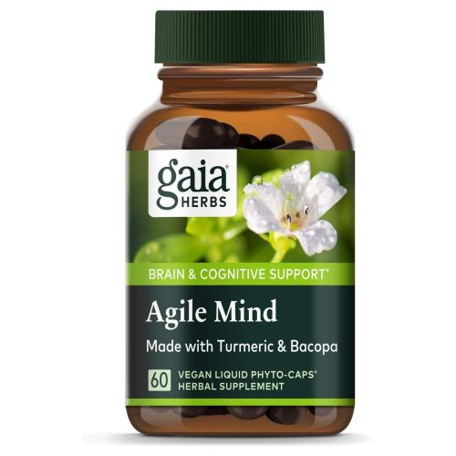 Agile Mind 60 Count by Gaia Herbs