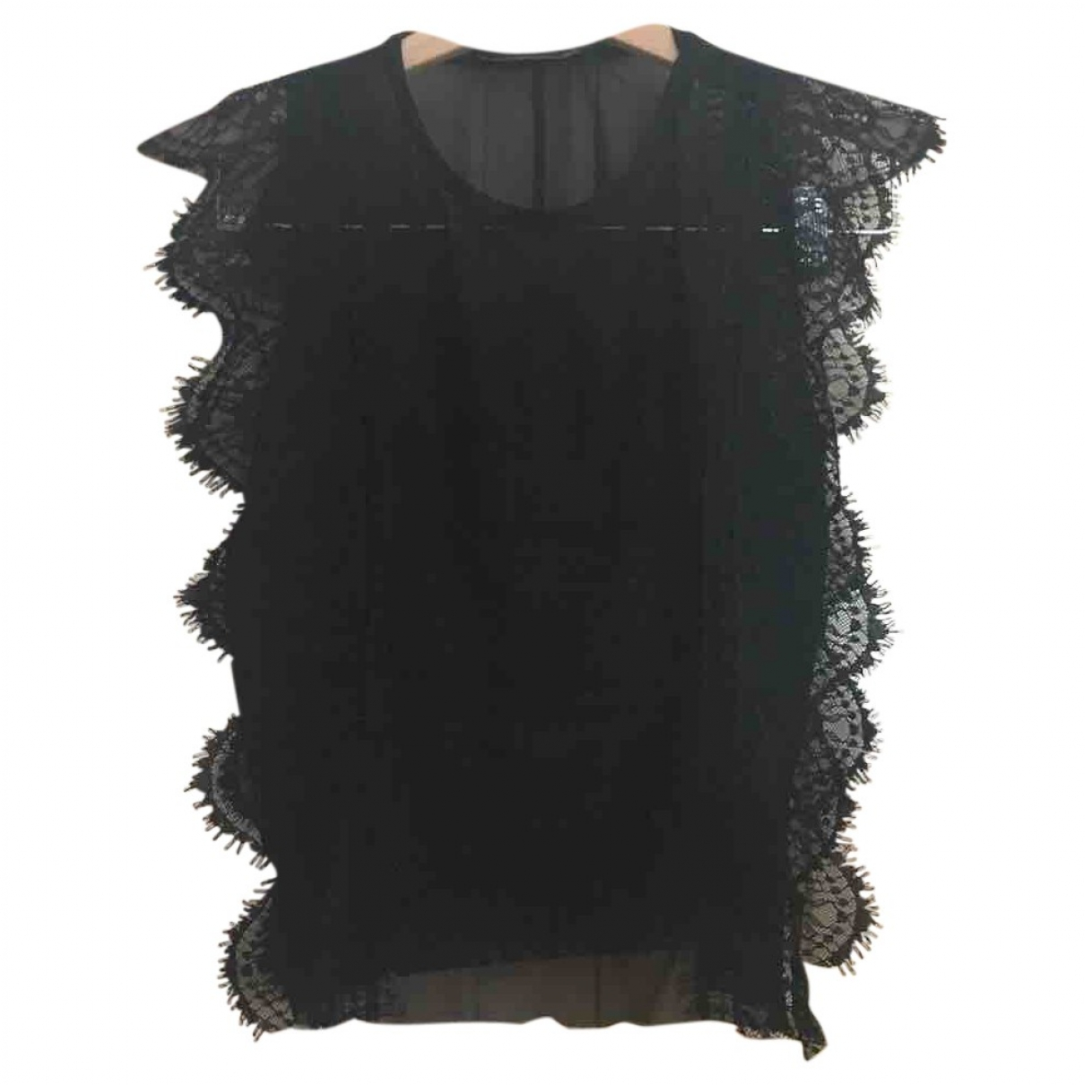 Non Signé / Unsigned \N Black Lace  top for Women S International