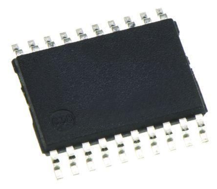Toshiba 74VHC540FT, 9, Octal Bus Buffer, 13.5 ns @ 50 pF 8mA, 20-Pin TSSOP (2500)