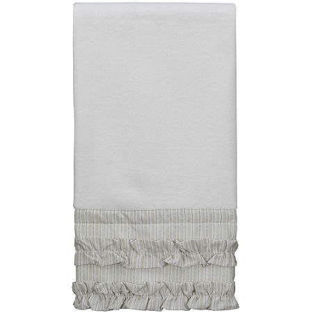 Creative Bath Can Can Hand Towel, One Size , White
