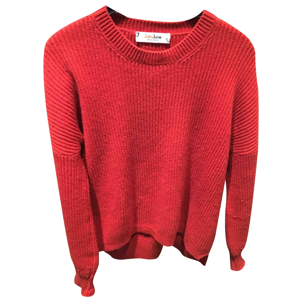 Non Signé / Unsigned \N Orange Wool Knitwear for Women 38 FR