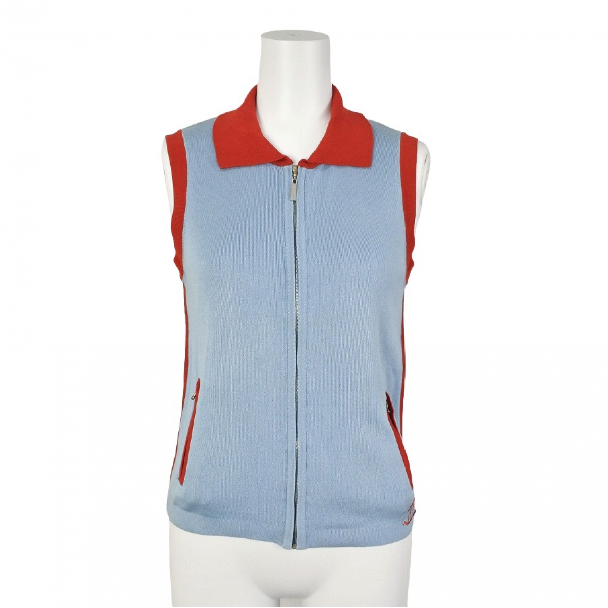 Chanel \N Blue Cotton  top for Women 38 FR