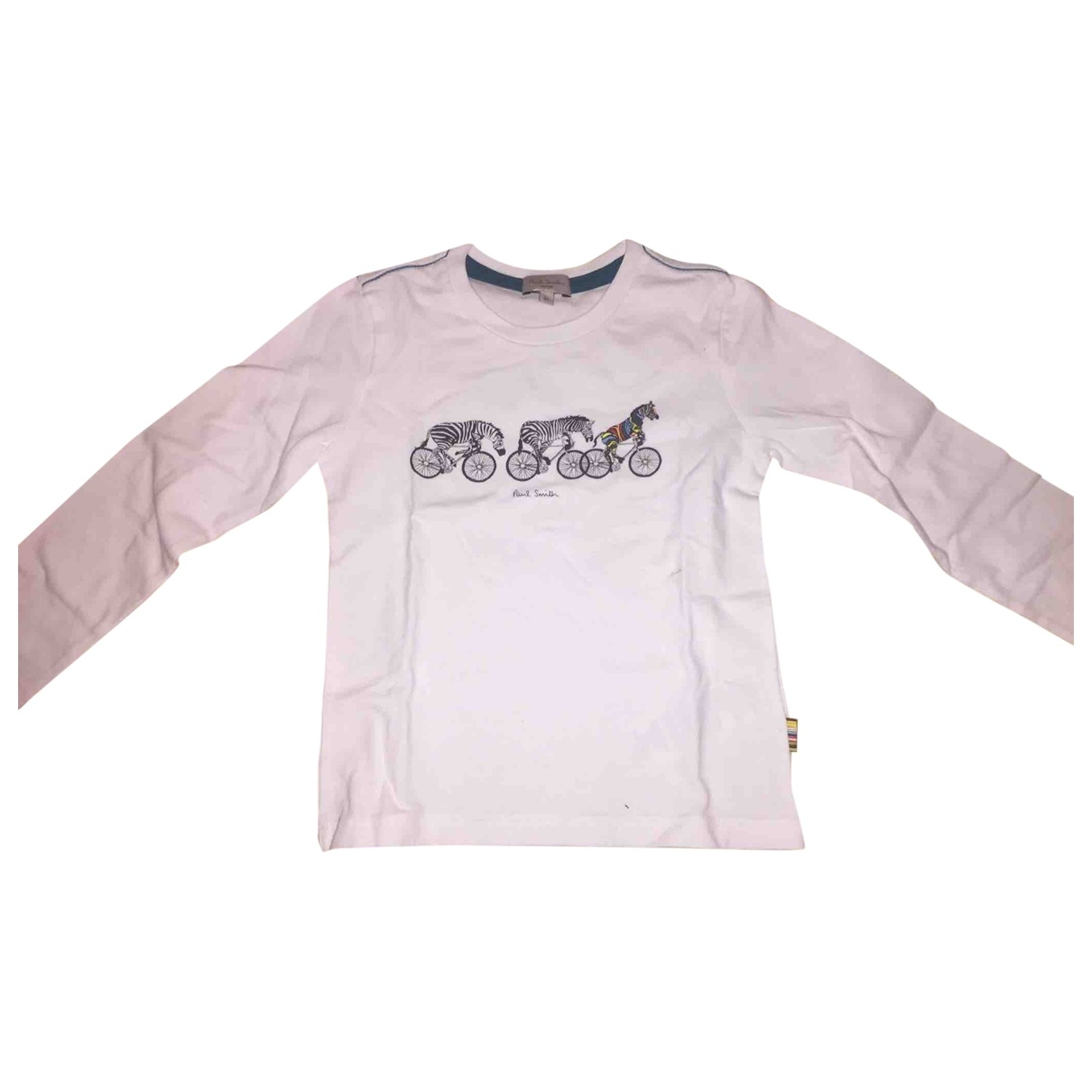 Paul Smith \N White Cotton  top for Kids 3 years - up to 98cm FR
