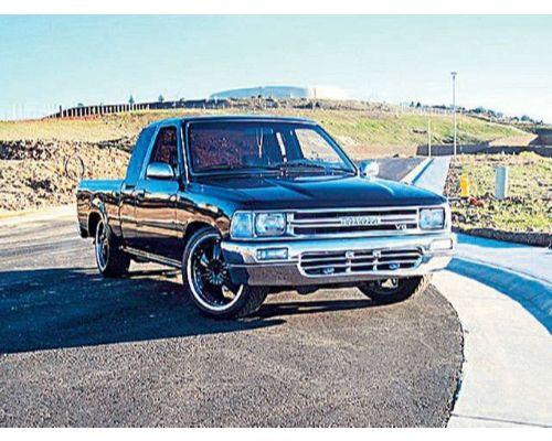 Advan Carbon BKTT89-AC756HC OEM Style Carbon Fiber Hood Skin Toyota Pickup Truck 1989-1994