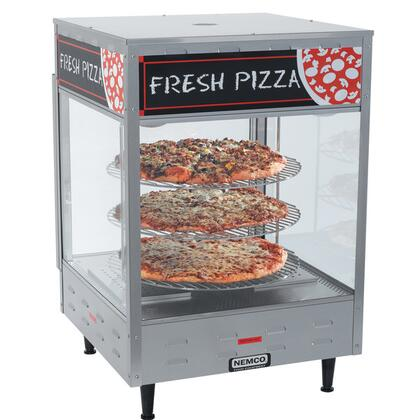 6451-2 Self-Serve Rotating 3-Tiered Pizza Merchandiser 18