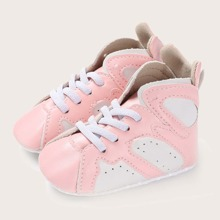 Baby Girl Lace-up Front High Top Sneakers