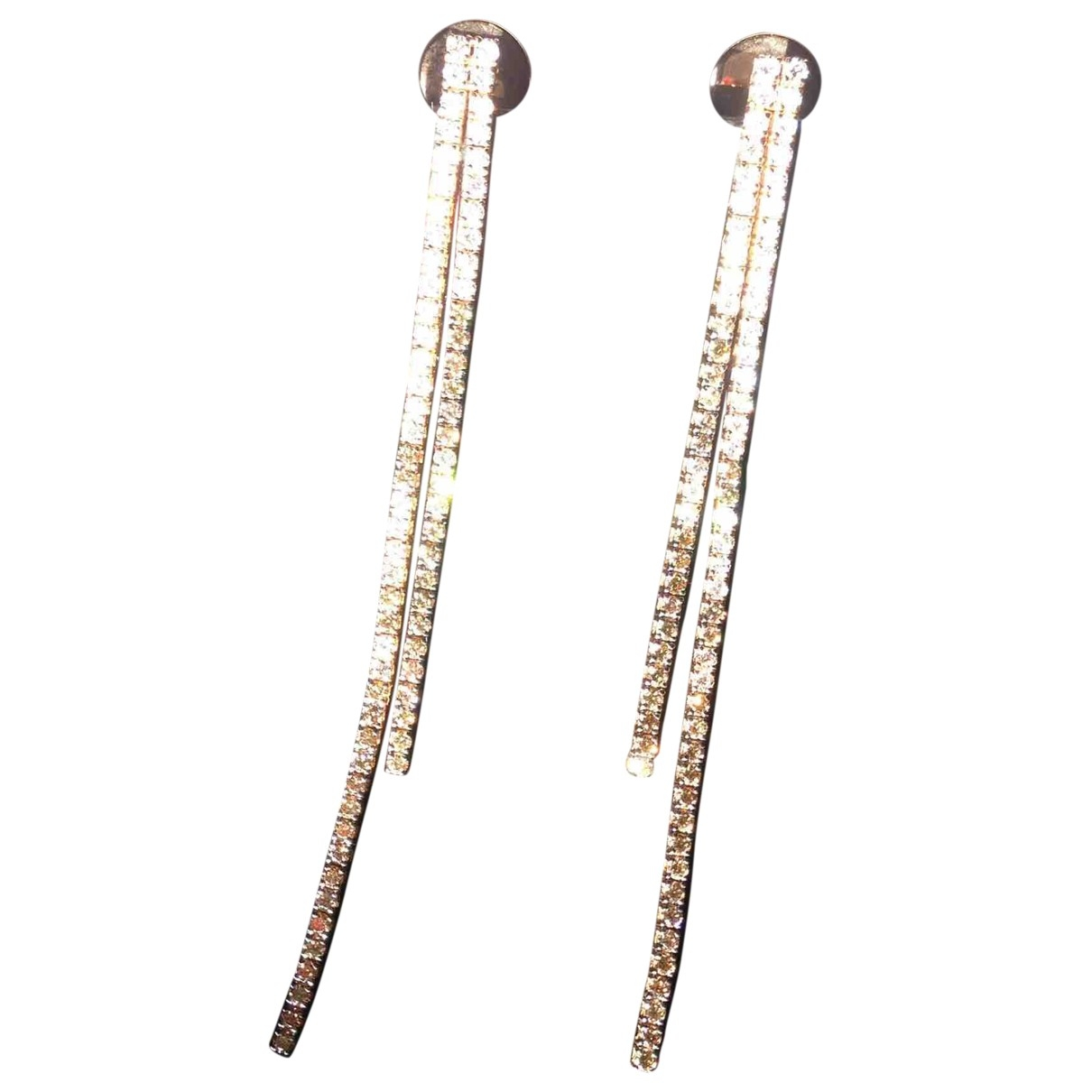 Non Signé / Unsigned \N Gold Pink gold Earrings for Women \N