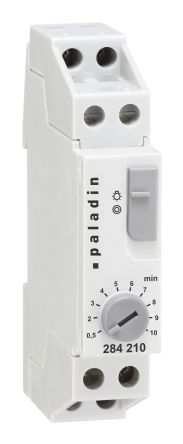 Muller DIN Rail Time Switch Measures Seconds, 230 V ac