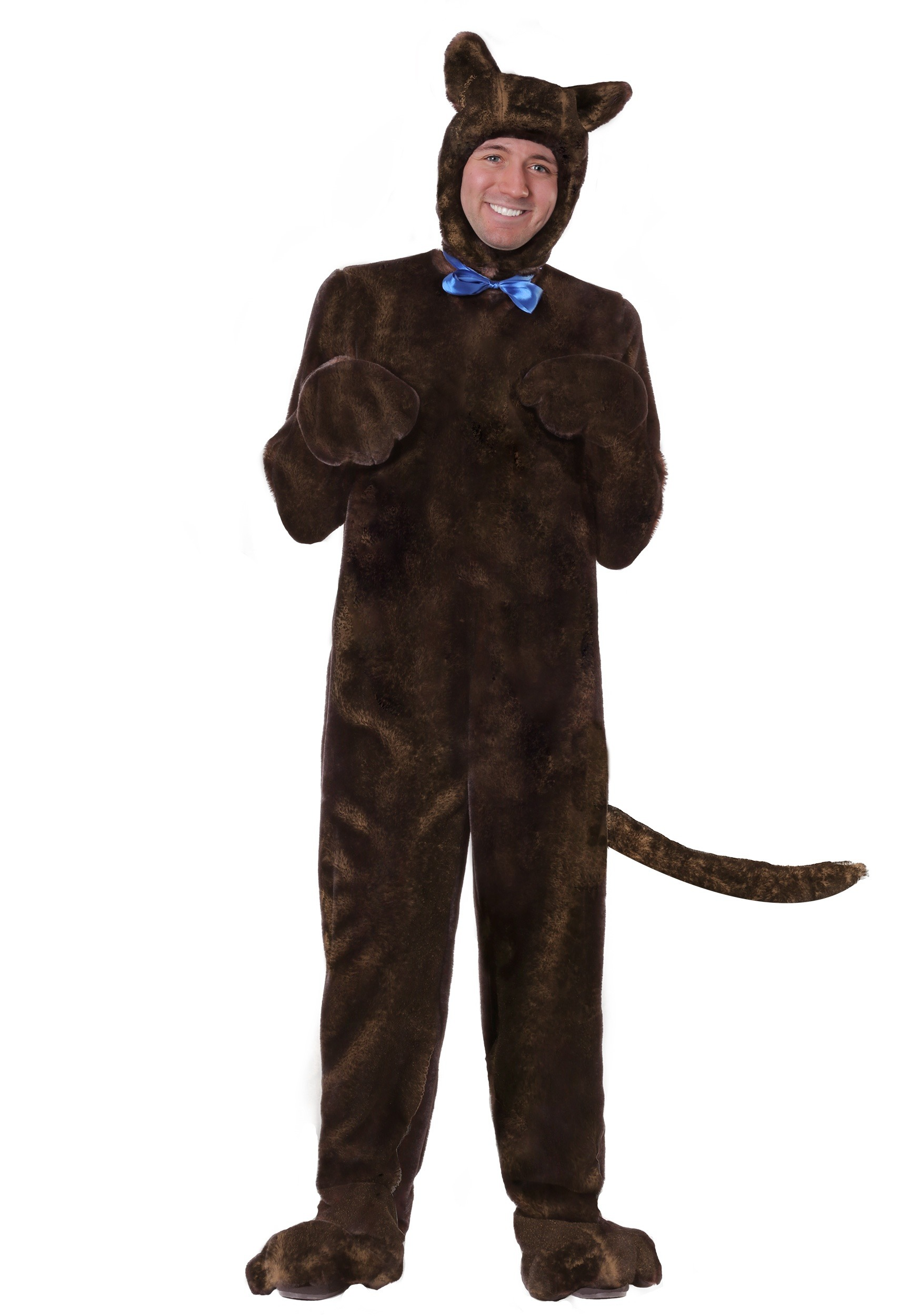 Deluxe Brown Dog Costume for Adults