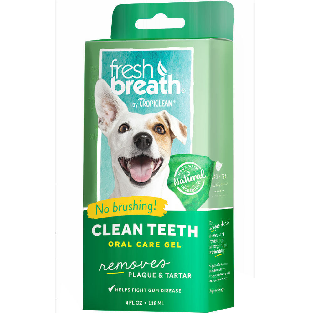 Tropiclean Fresh Breath Clean Teeth Gel (4 fl oz)