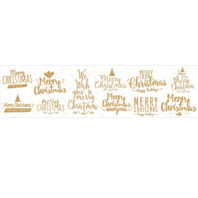 16 ft Vintage Christmas Series Multi-purpose Tape