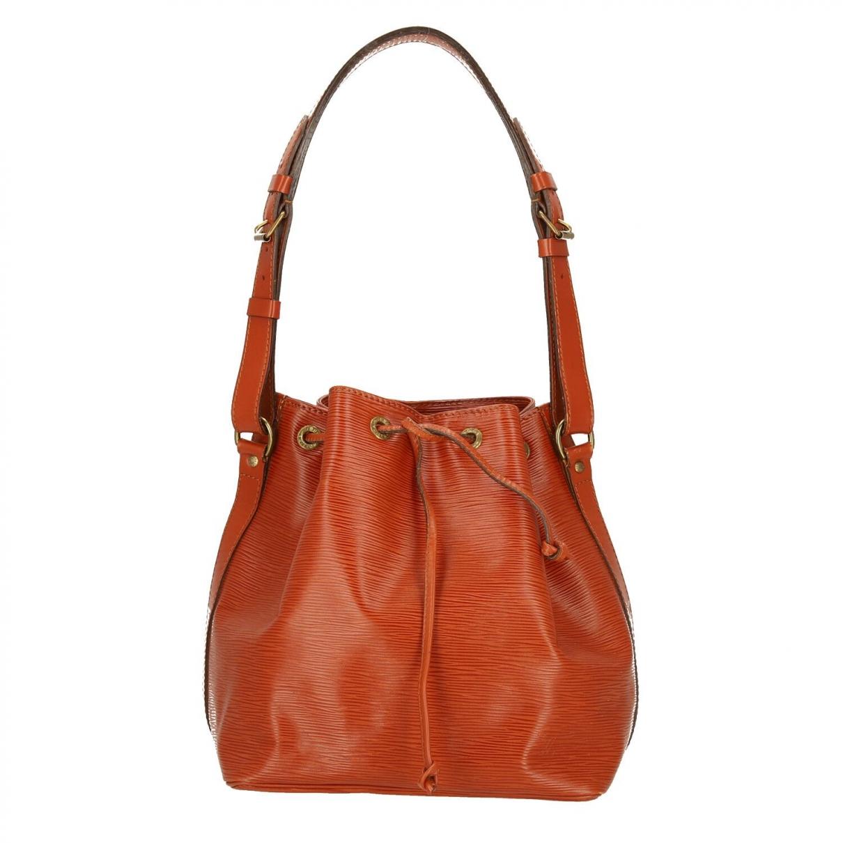 Louis Vuitton Noé Brown Leather handbag for Women \N