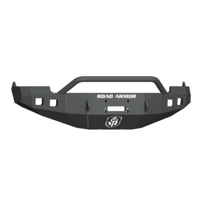 Road Armor Stealth Front Winch Bumper with Pre-Runner Guard (Black) - 4091F4B