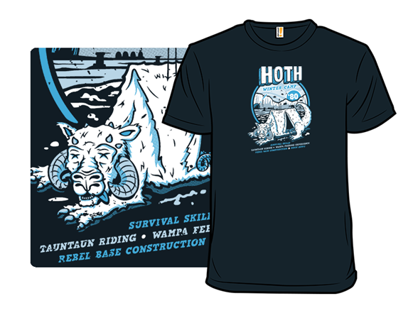 Hoth Winter Camp T Shirt