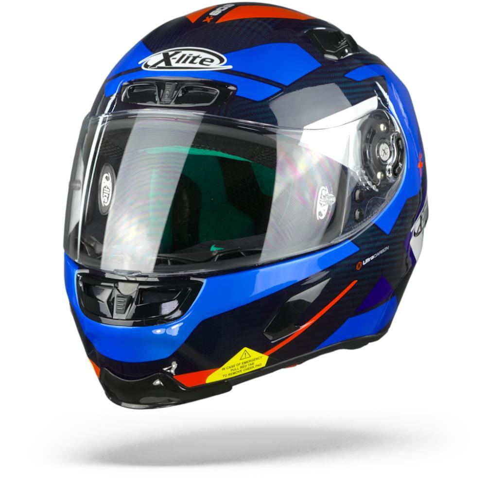 X-Lite X-803 Ultra Carbon Mastery Tinto Azul 40 L
