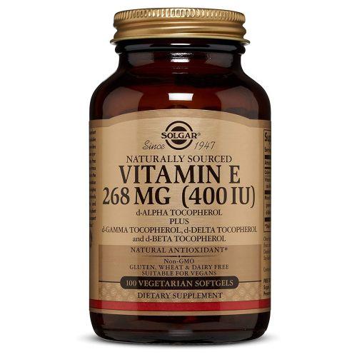 Vitamin E Mixed (d-Alpha Tocopherol and Mixed Tocopherols) 100 S Gels by Solgar
