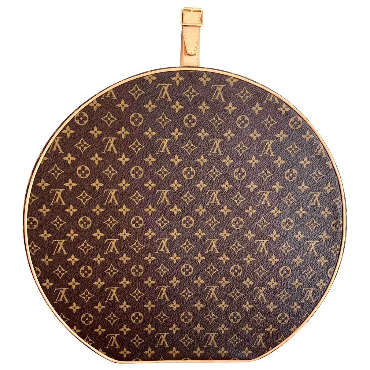 Louis Vuitton \N Brown Cloth Home decor for Life & Living \N