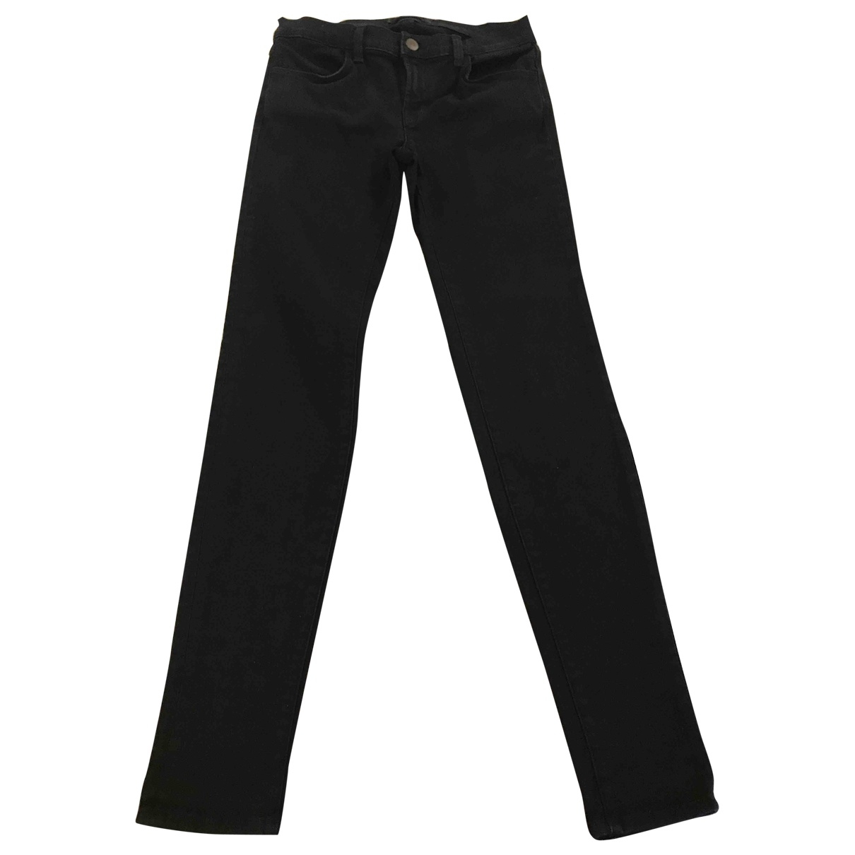 J Brand \N Black Denim - Jeans Trousers for Women One Size FR