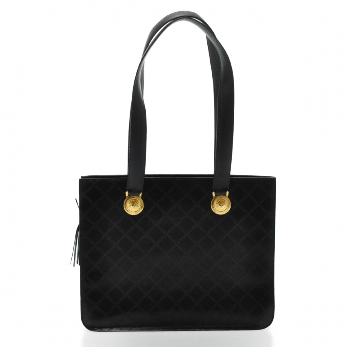 Gianni Versace \N Black Leather handbag for Women \N