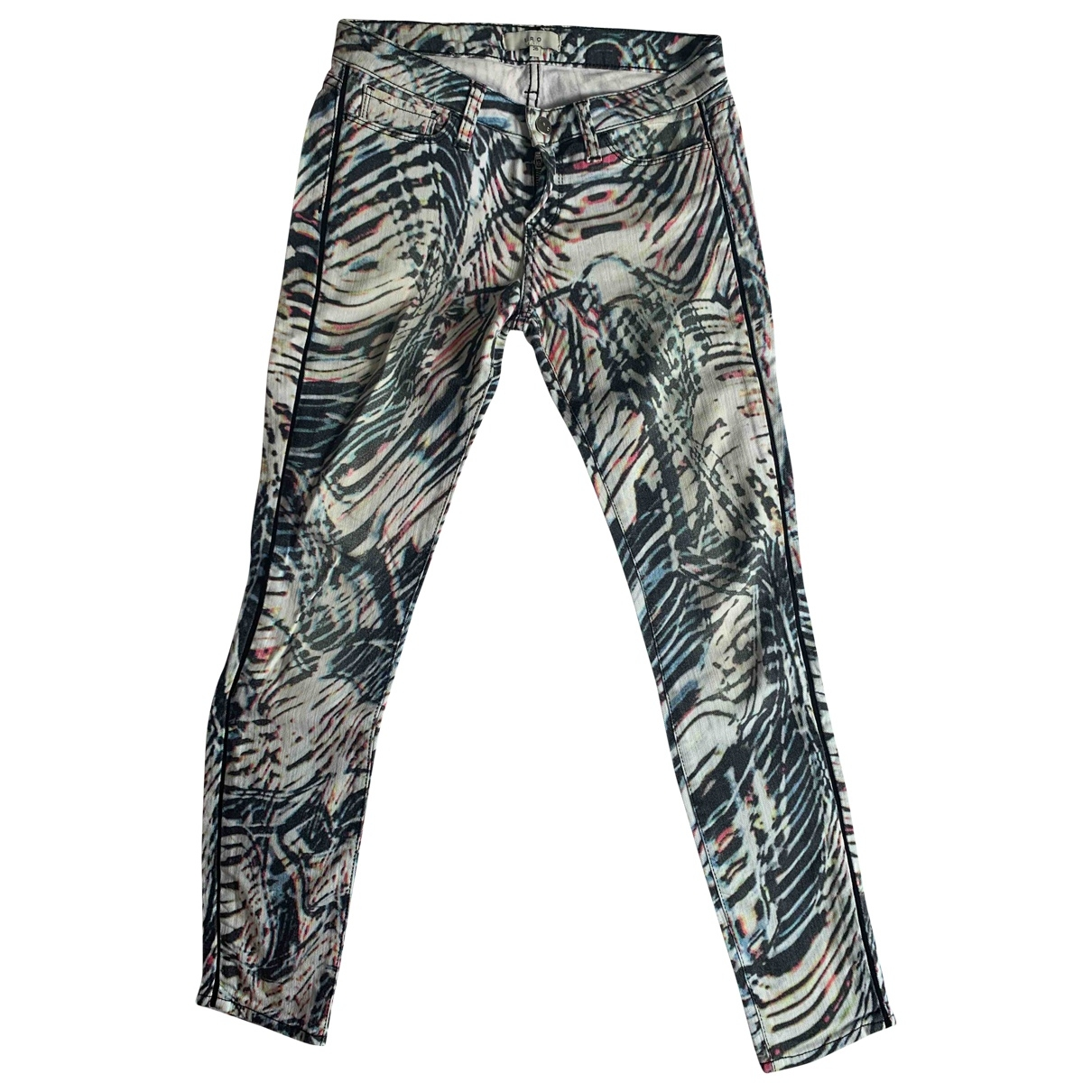 Iro \N Multicolour Denim - Jeans Trousers for Women 34 FR