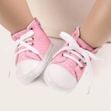 Baby Girls Polka Dot Sneakers