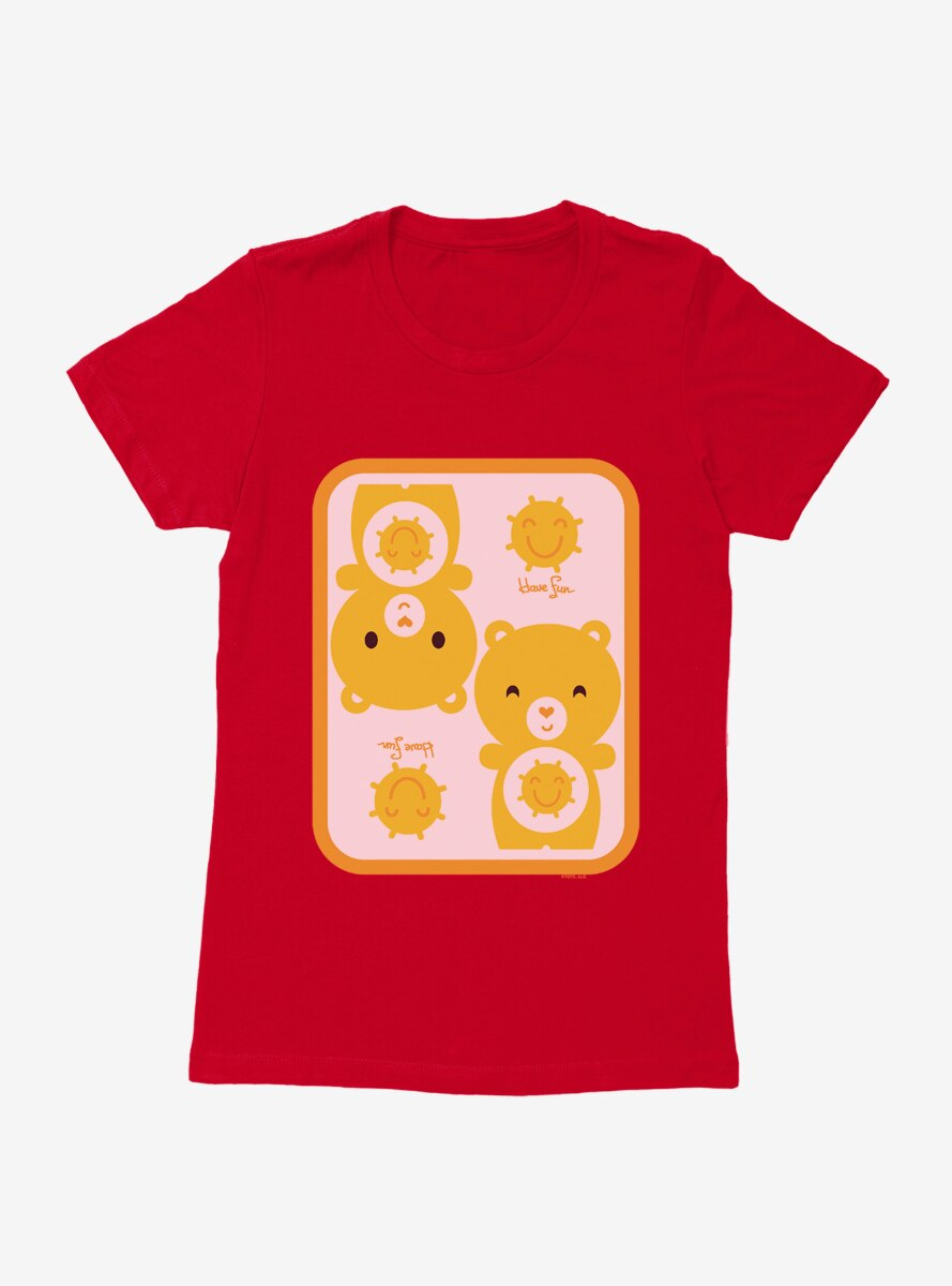 Care Bears Cartoon Funshine Have Fun Womens T-Shirt