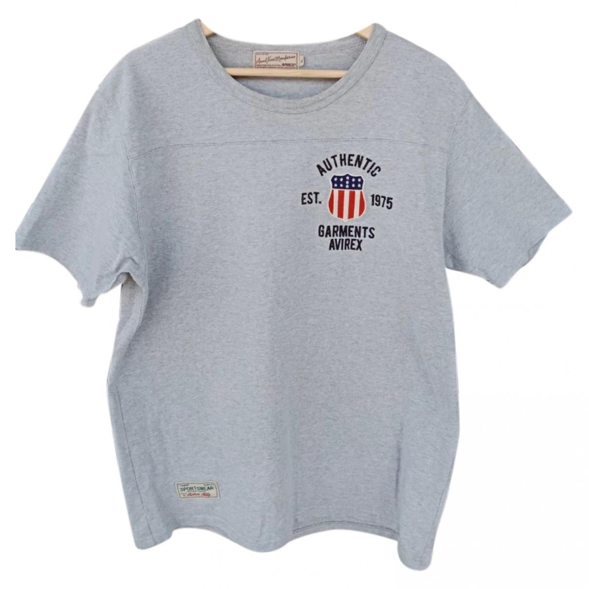 Avirex \N Grey Cotton T-shirts for Men M International