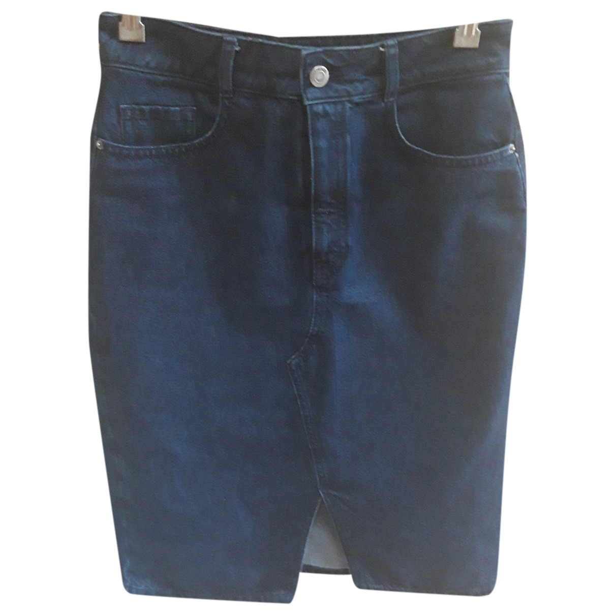 Boss \N Blue Cotton skirt for Women 36 FR