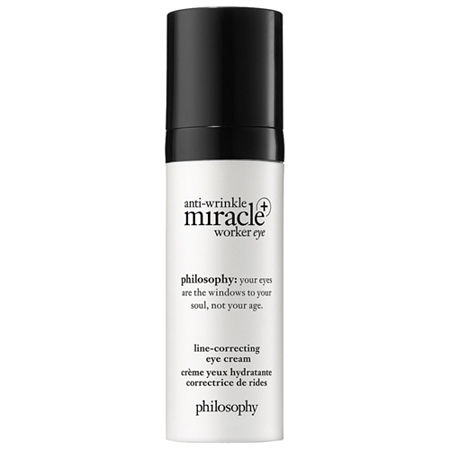philosophy anti-wrinkle miracle worker eye+ line-correcting eye cream, One Size , No Color Family