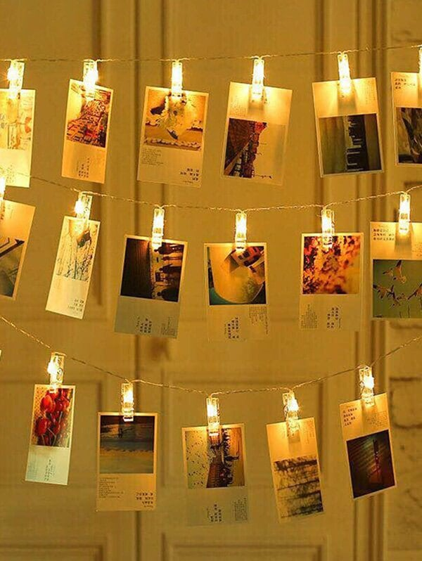 Photo Clip LED Wall Decorative Hanging String Lights