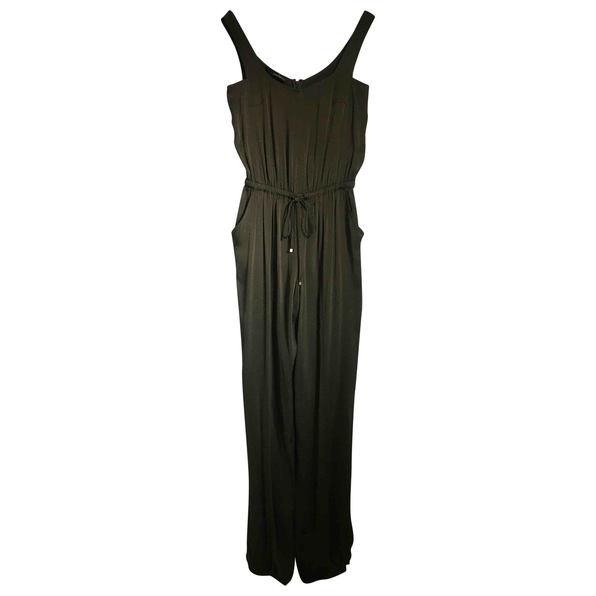Amanda Wakeley \N Khaki Silk jumpsuit for Women M International