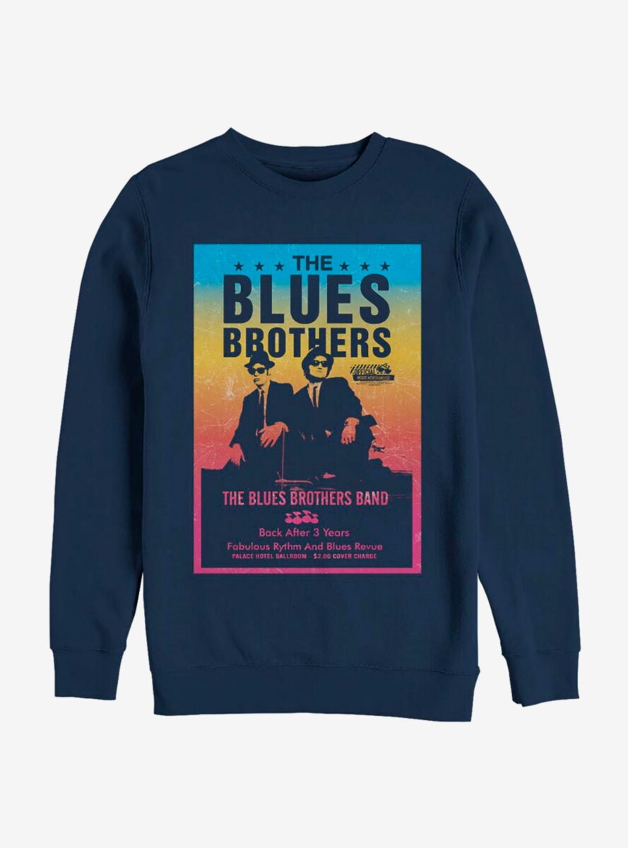 Blues Brothers Band Poster Sweatshirt