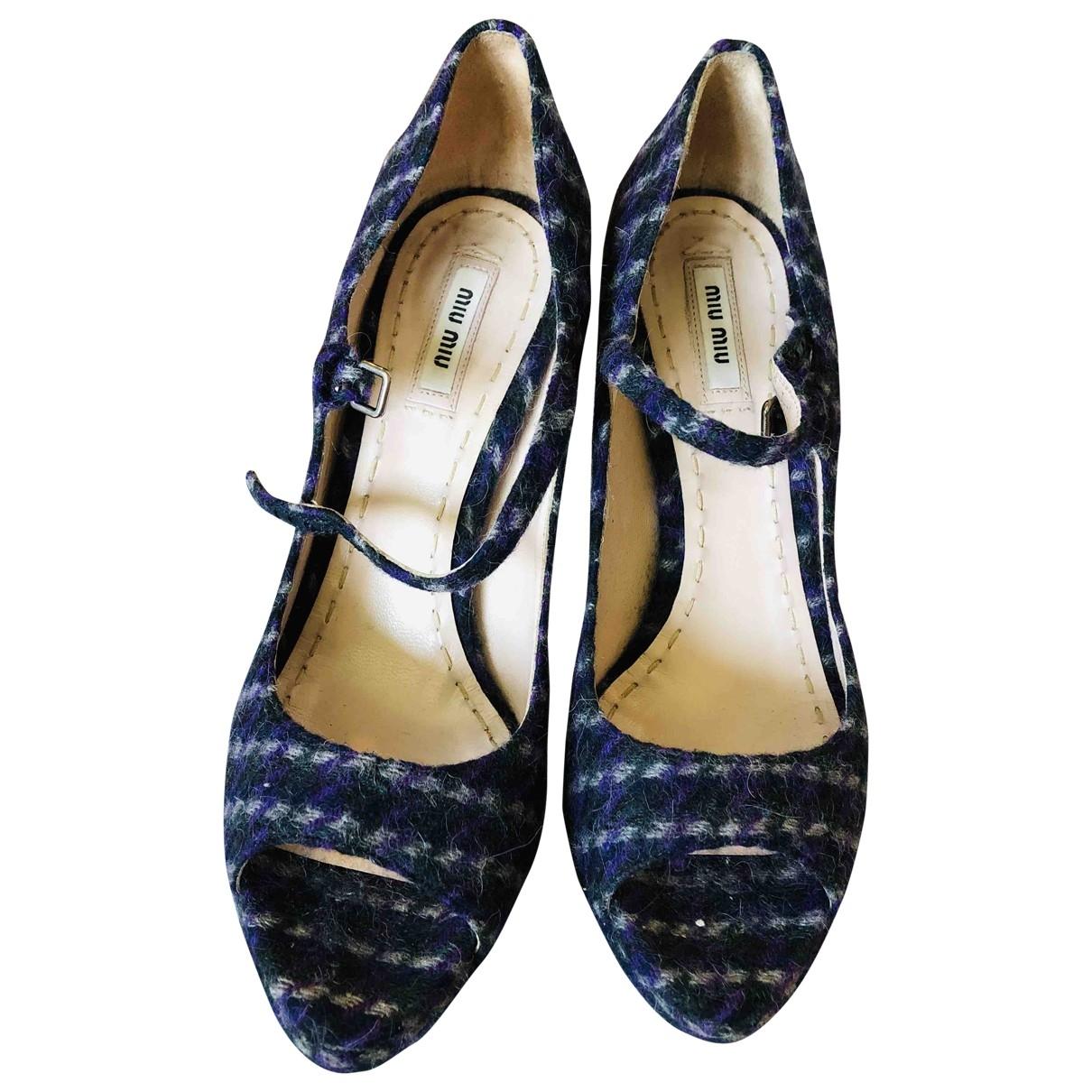 Prada \N Multicolour Tweed Heels for Women 40 EU