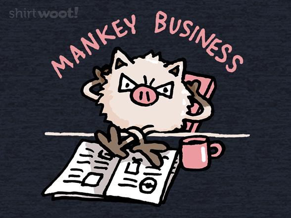 Mankey Business T Shirt